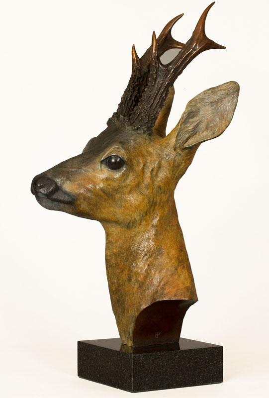 Roebuck Sculpture, Bronze