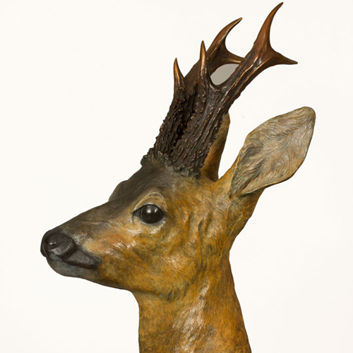 Roe buck bronze