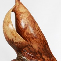Sail Sculpture In Burr
