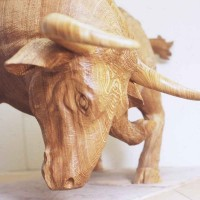 Bull In Plywood