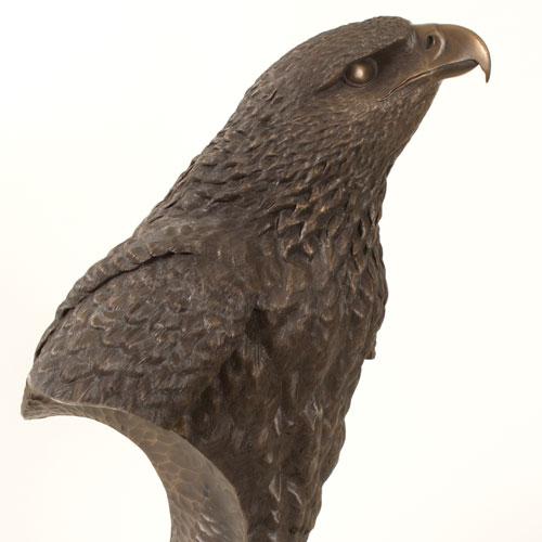 Eagle Bust Sculpture