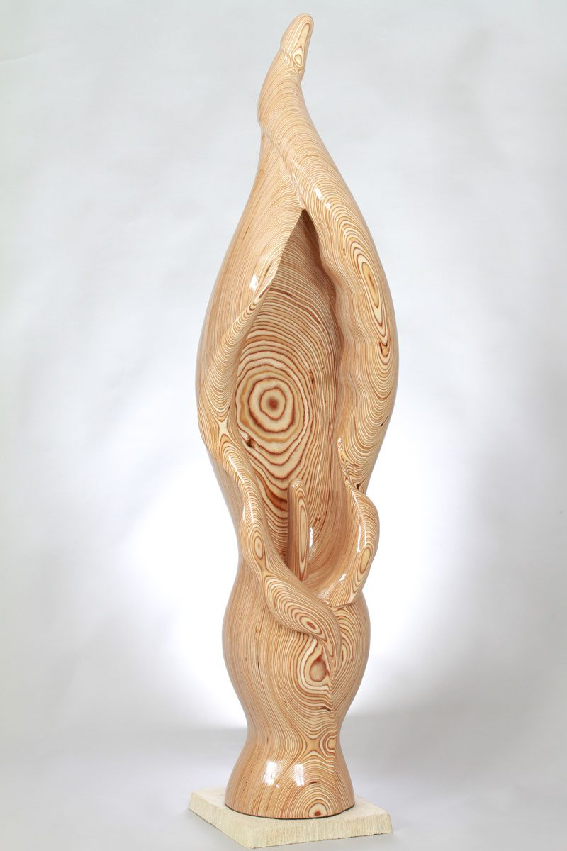Lily In Birch Plywood