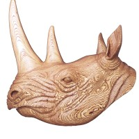 Rhino In PLywood
