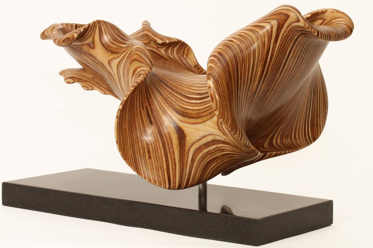 Spanish dancer sculpture by wildlife artist bill prickett
