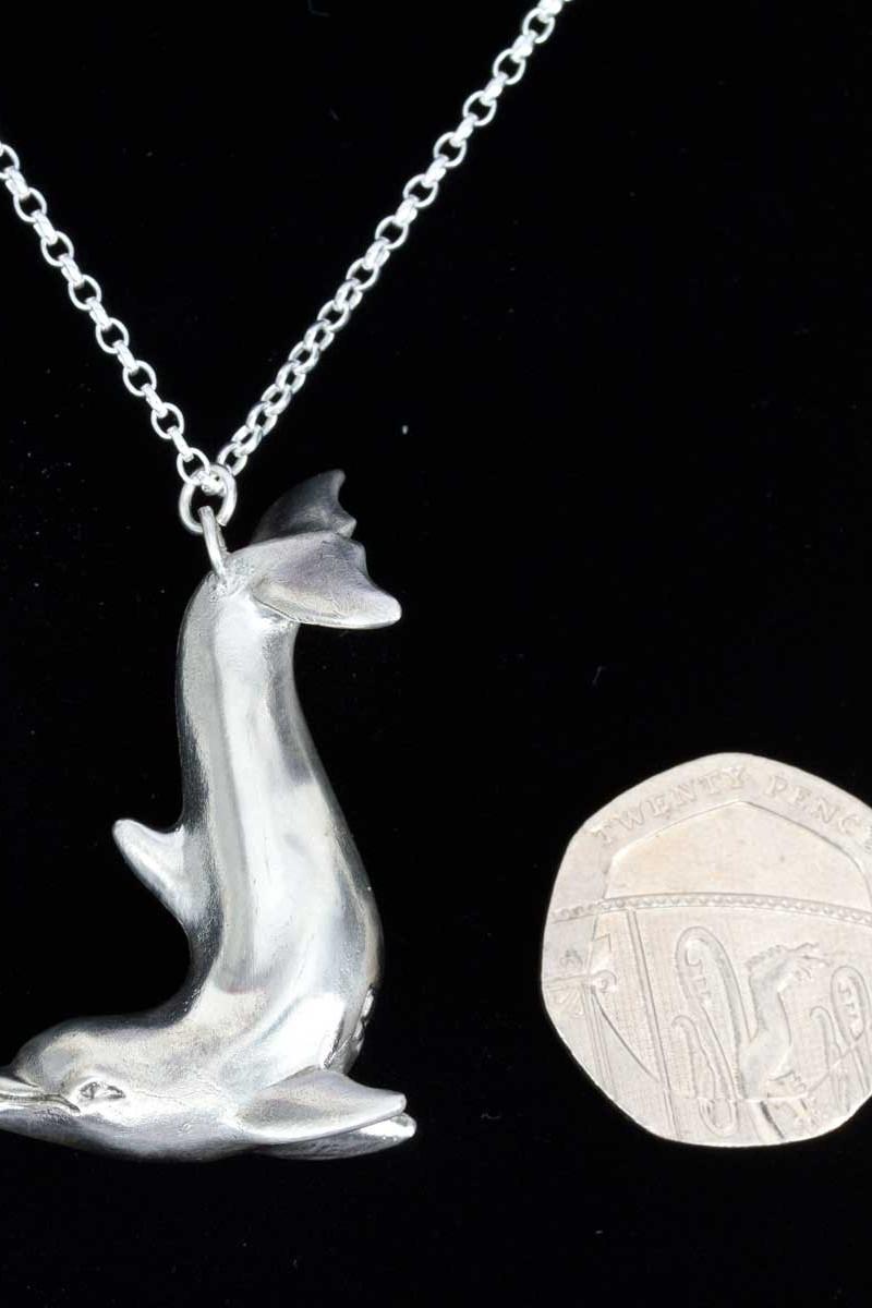 Silver Dolphin Pendant