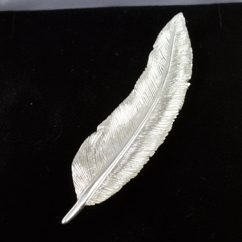 Small Feather Brooch