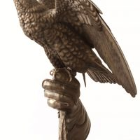Falcon Bronze By Bill Prickett