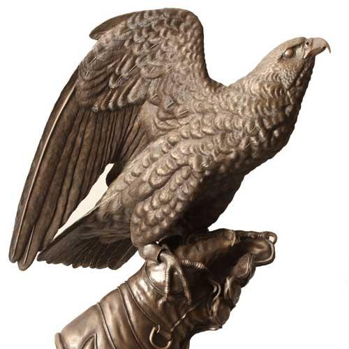 Taking Flight, Bronze
