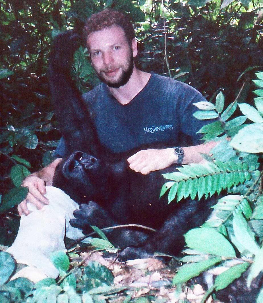 Bill and Friend (Congo)