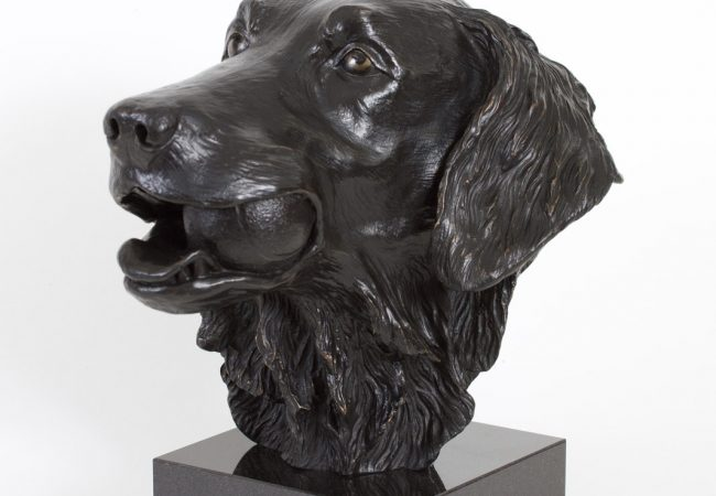 Flatcoated Retriever Bust